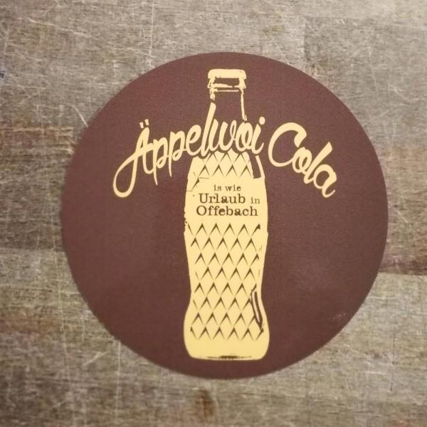 Aufkleber - Äppelwoi Cola