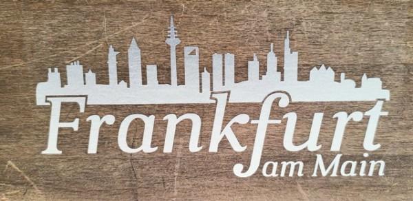 Aufkleber - Frankfurt am Main Silber