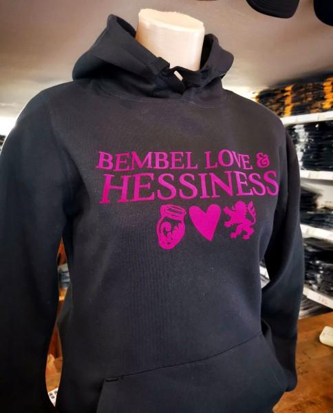 Hoodie - Bembel Love und Hessiness