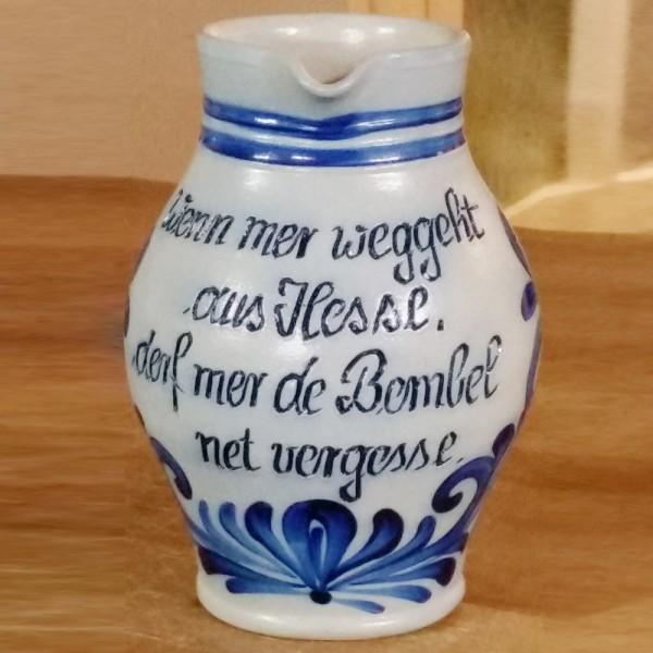 Bembel Viez Cider Apfelwein Wenn mer weggeht aus Hessen